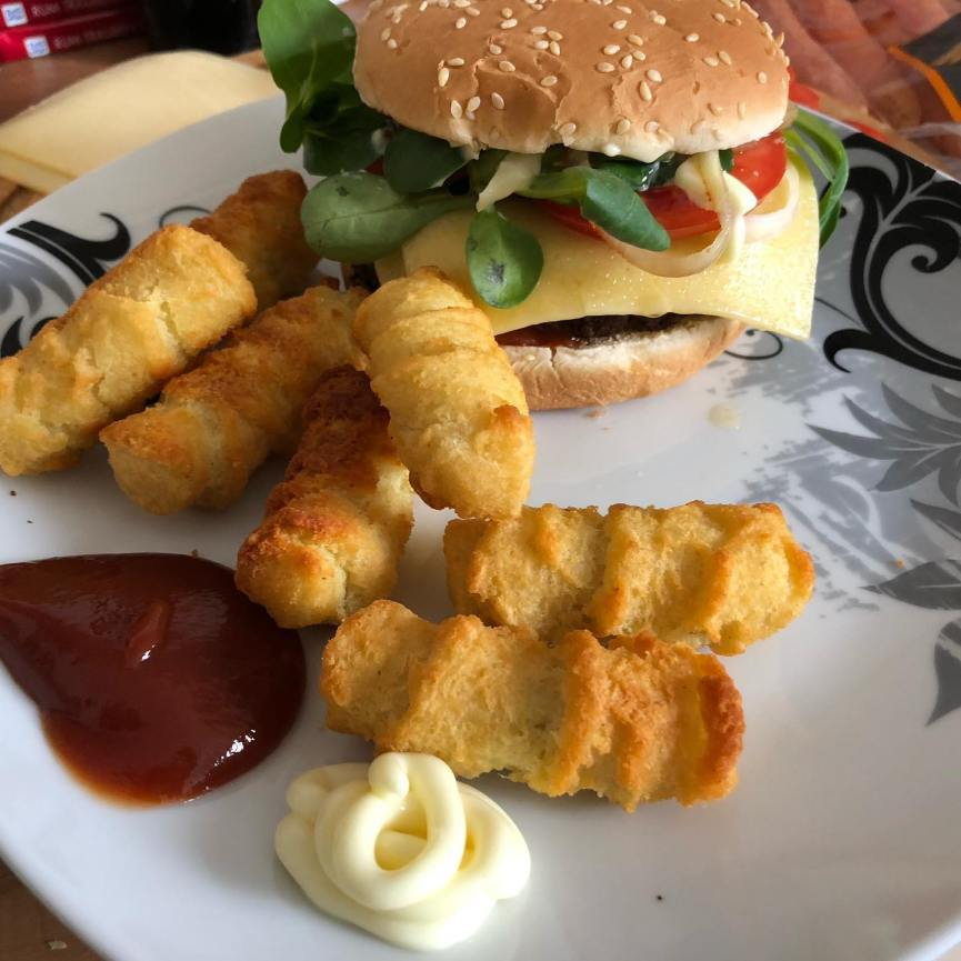 Heute mal heiteres Burger-Basteln  <a rel=