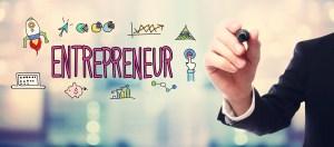 Entrepreneur drawing