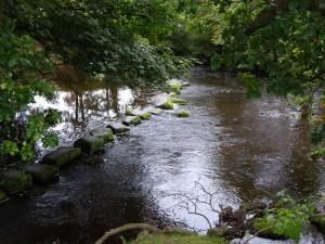 Walking-along-riverside
