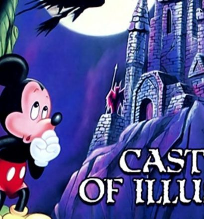 castle of illusion mega drive
