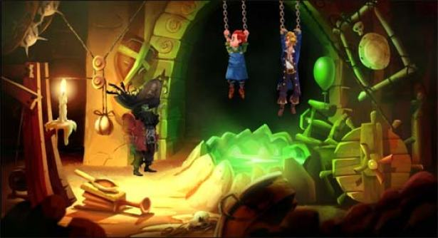 """Monkey Island 2 - Special Edition. LeChuck's """"gäster"""""""