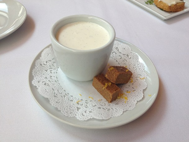 Fig & Olive Chocolate Pot de Creme