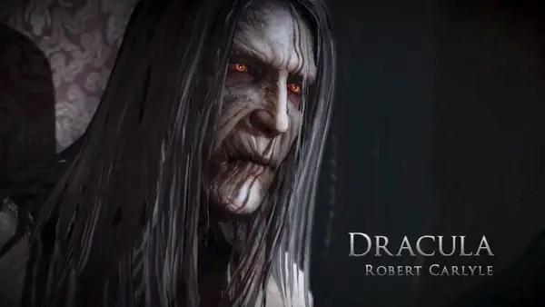 Robert Carlyle gör återigen rösten till Dracula - tyvärr lika dåligt som sist