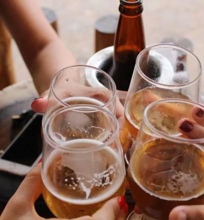 dricka öl