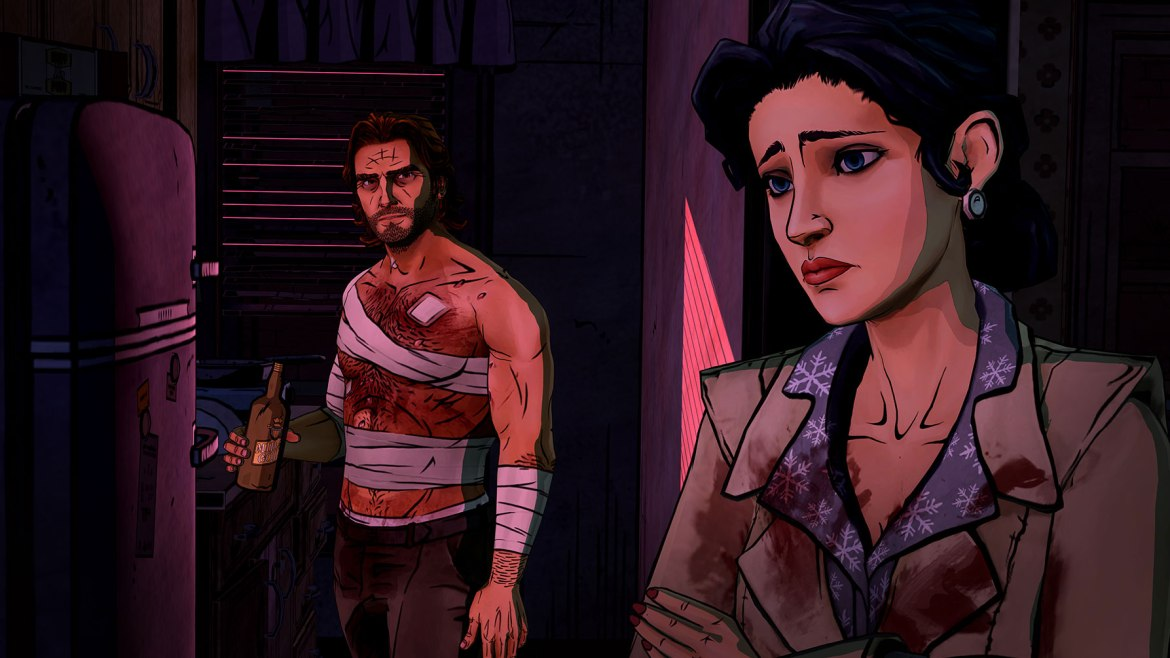 Wolf among us bigby snow