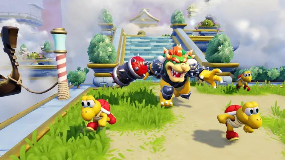 Nintendo-figurer gör gästspel i Skylanders Superchargers till Wii och Wii U.