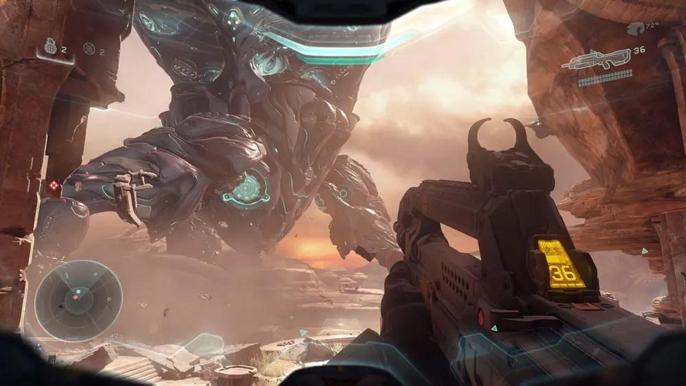 Halo 5 är otroligt vackert.
