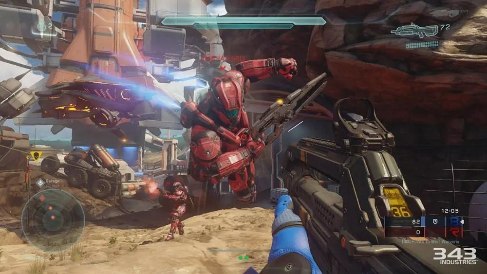 Att spela mot andra är halva nöjet med Halo 5.