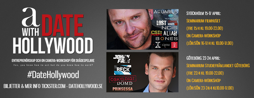 A Date with Hollywood april 2016, Kevin E. West, Christian Magdu