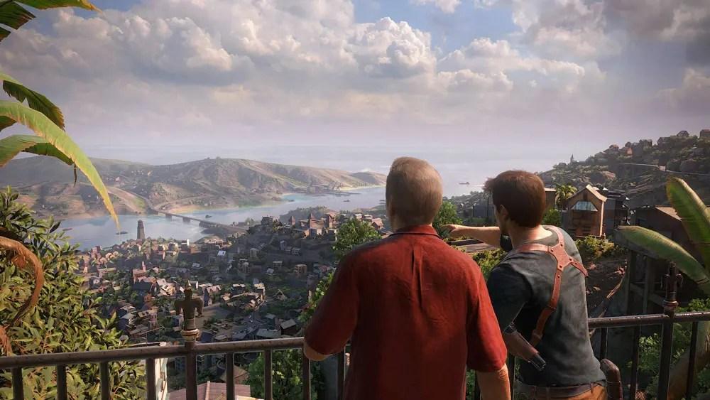 Nate och Sully planerar framtiden för Uncharted