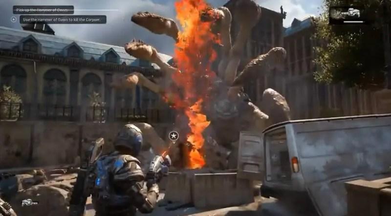 I Gears of War 4:s prolog tar vi oss tillbaka till Emergence Day för en kort stund.