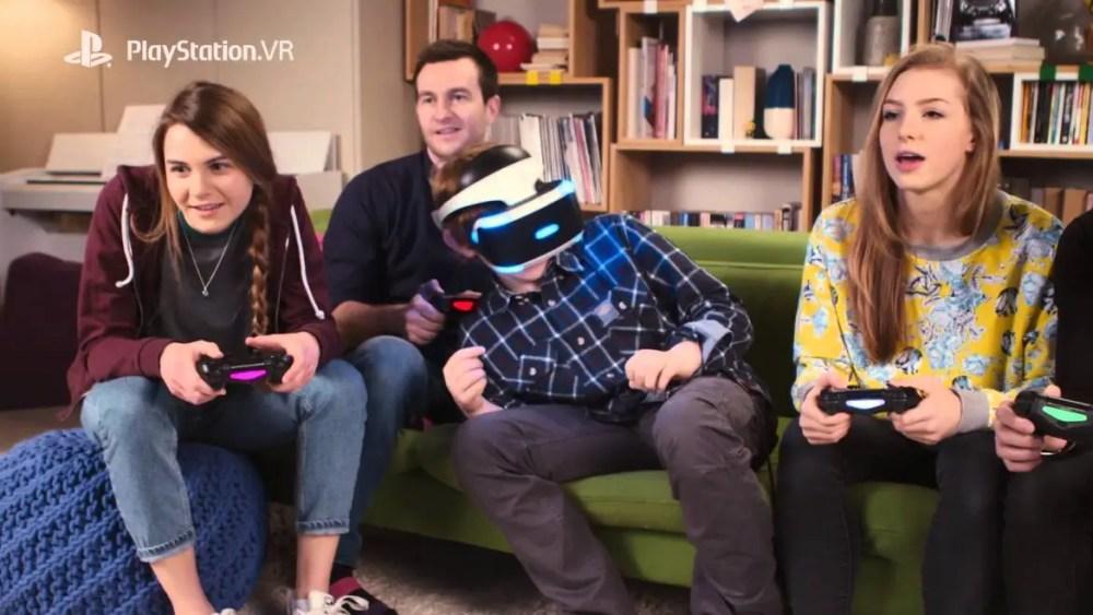 Playstation VR family