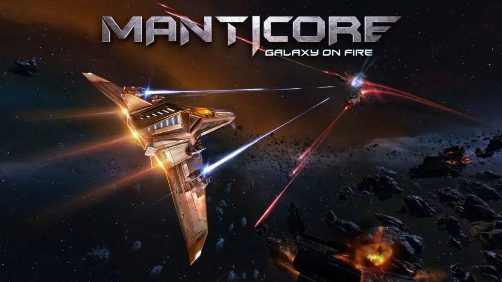manticore galaxy on fire