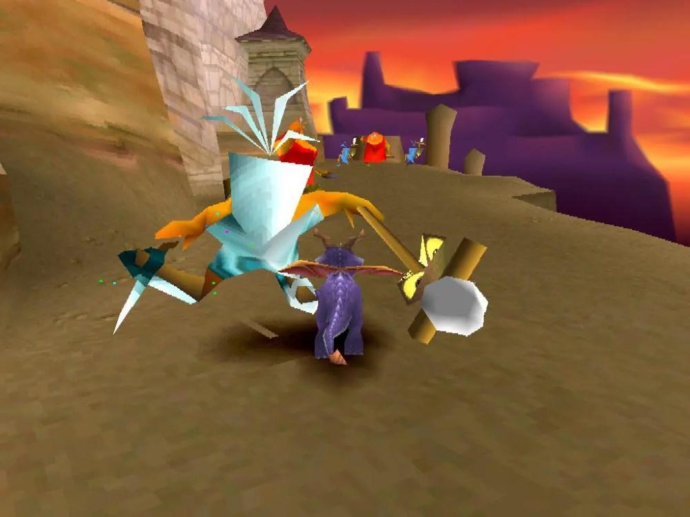 Spyro the dragon recension