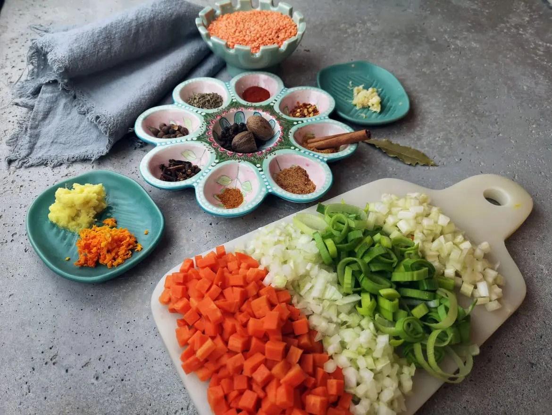 kryddor grönsaker linssoppa vegansk vegetarisk jerkkrydda veckans recept