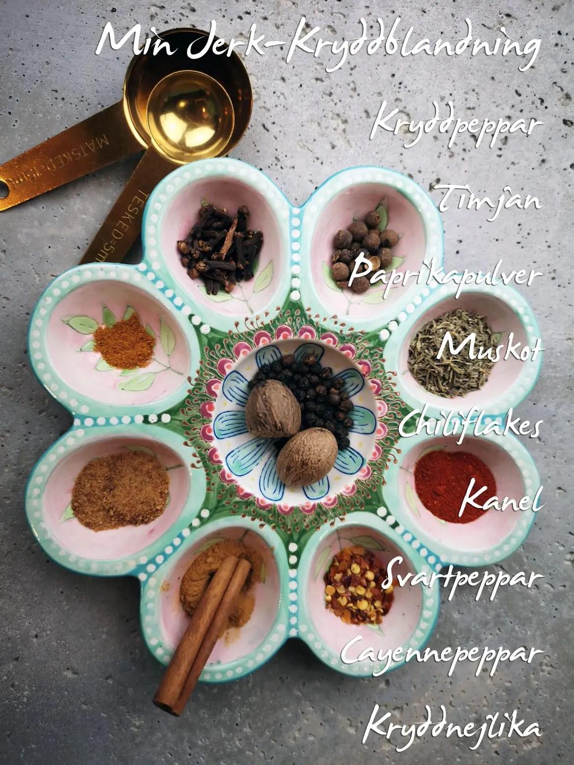 kryddor jerkblandning veckans recept vegetariskt vegansk
