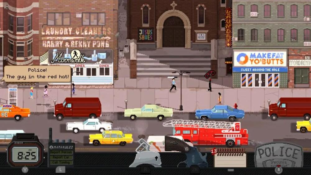 Beat Cop - Screenshot - Nintendo Switch