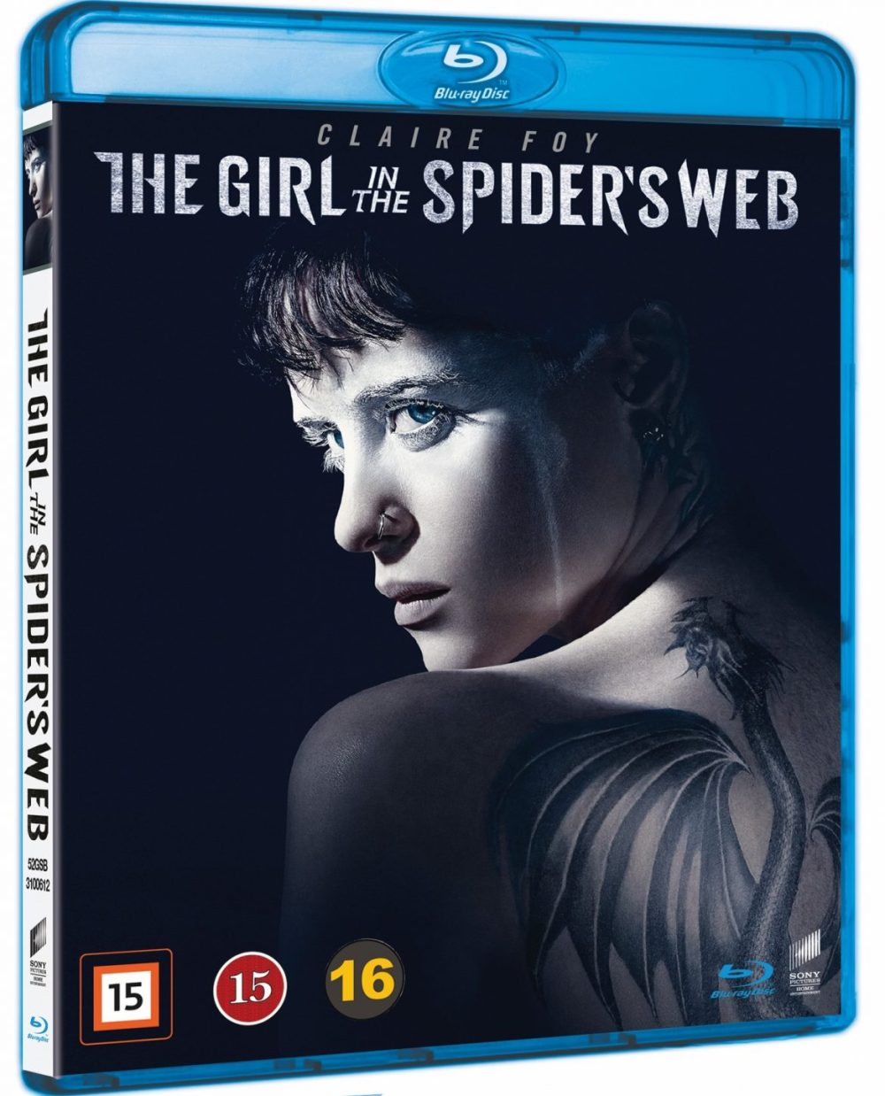 girl in the spider's web blu-ray Sverige