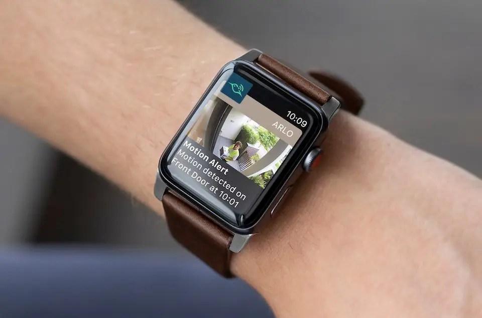 arlo app Apple Watch