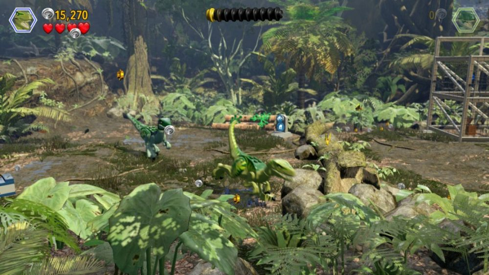 LEGO: Jurassic - screenshot - nintendo Switch