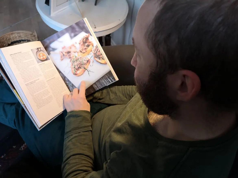 preppa som en kock läser