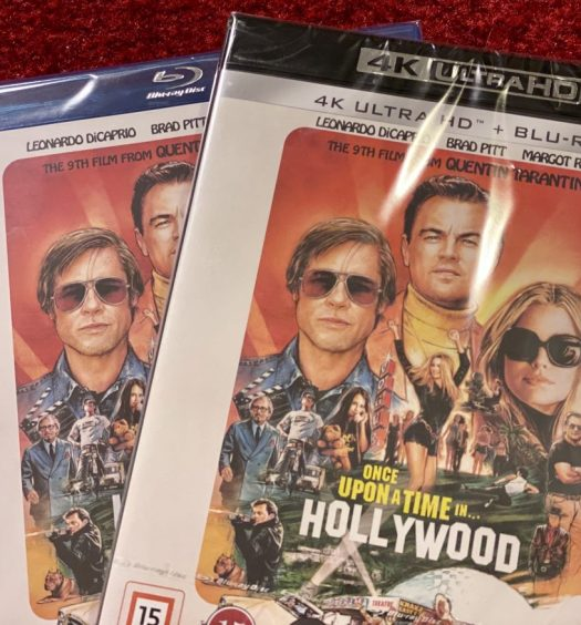tävling once upon a time in Hollywood senses.se