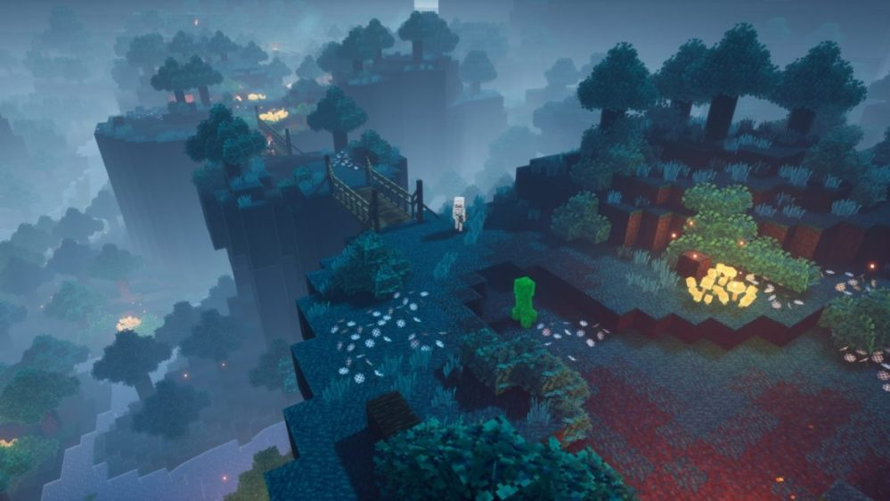 minecraft dungeons skog