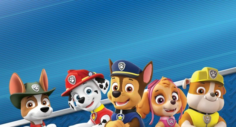 paw patrol on a roll recension