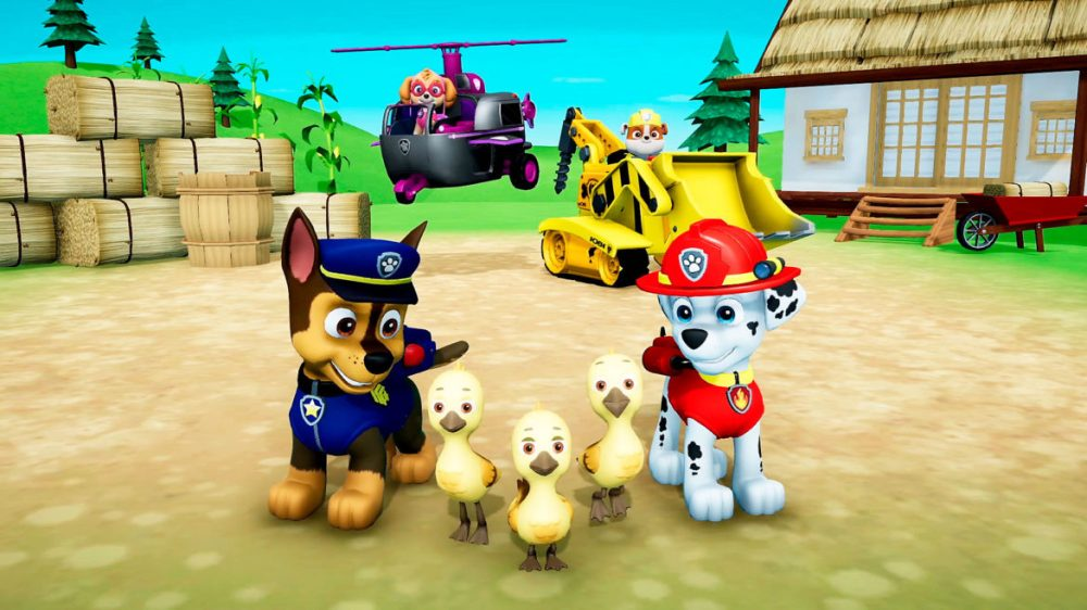 paw patrol ps4 games for young children