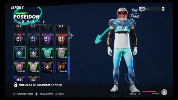Madden NFL 21 customize
