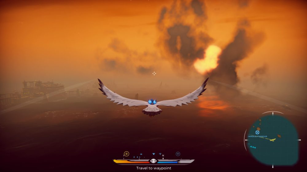 Falconeer - Tomas Sala - Wired Productions - copyright 2020 - screenshot from Xbox one X