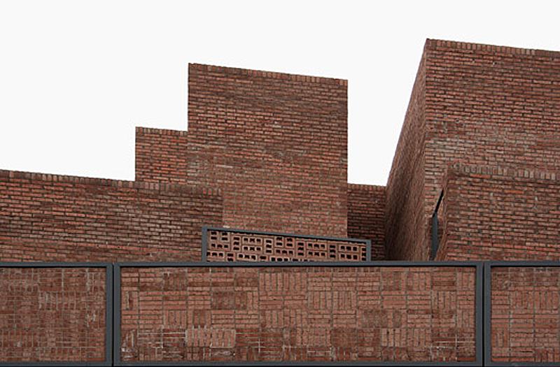Ciudad Pegaso Layers Bricks