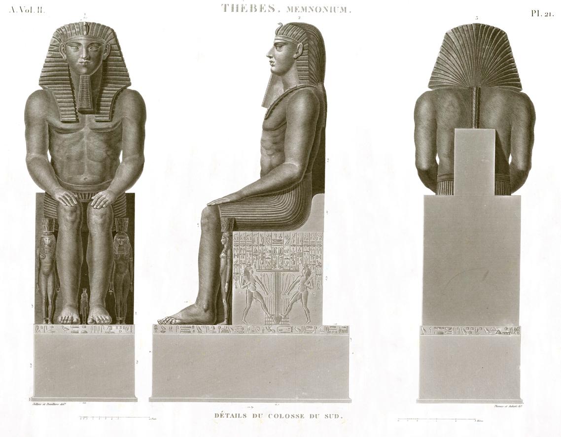 South coloss Thèbes Ramesseum