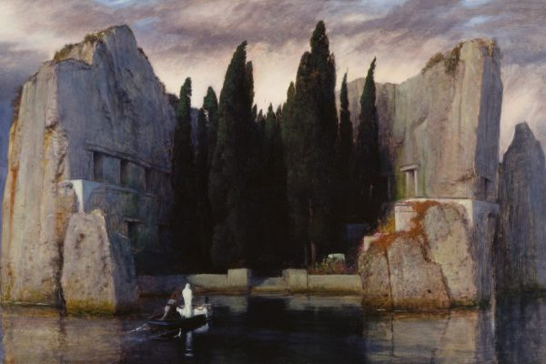Arnold Böcklin Isle of the Dead First Version 1880