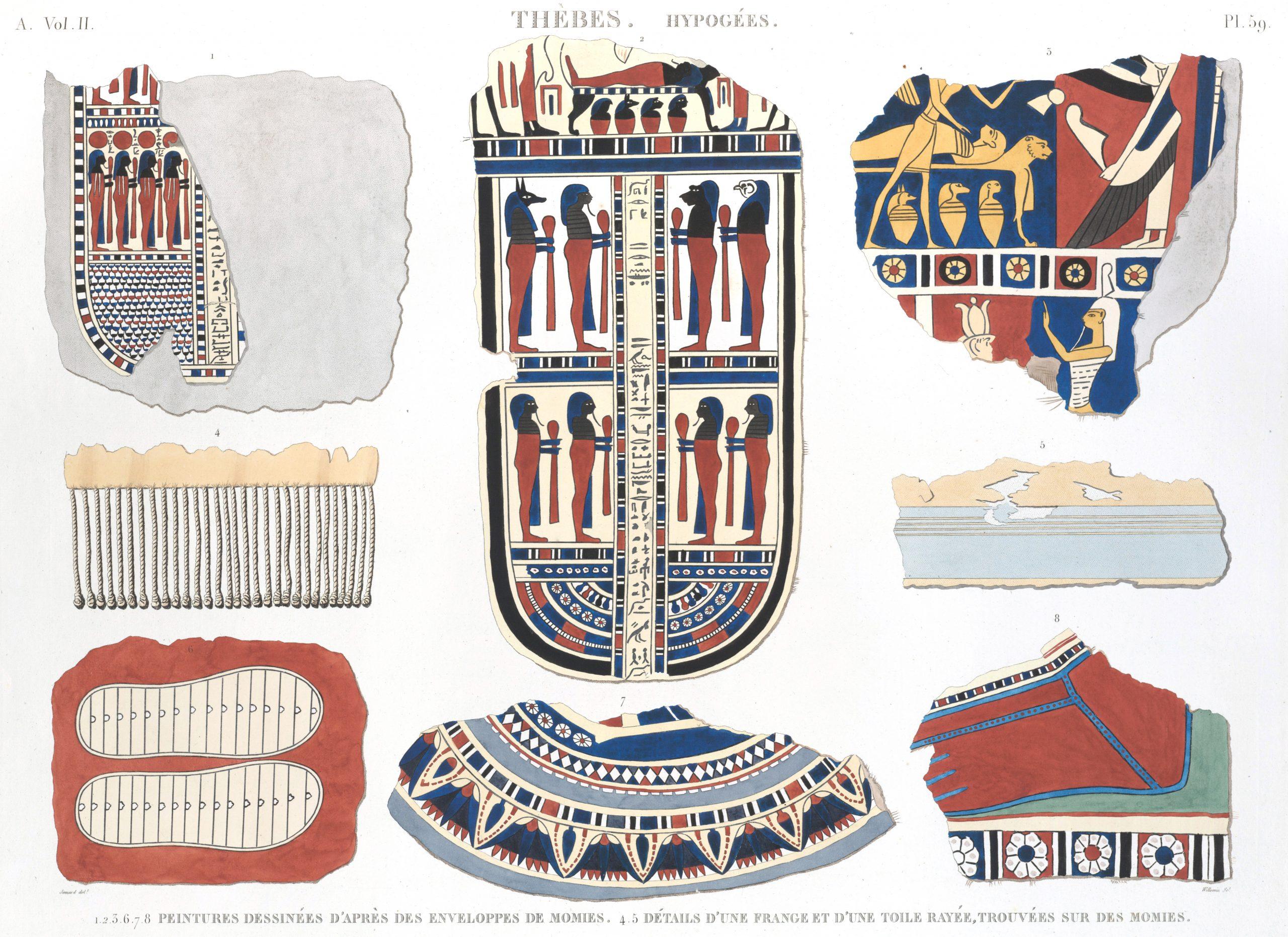 Thebes Description de l'Egypte Antiquité Egypt