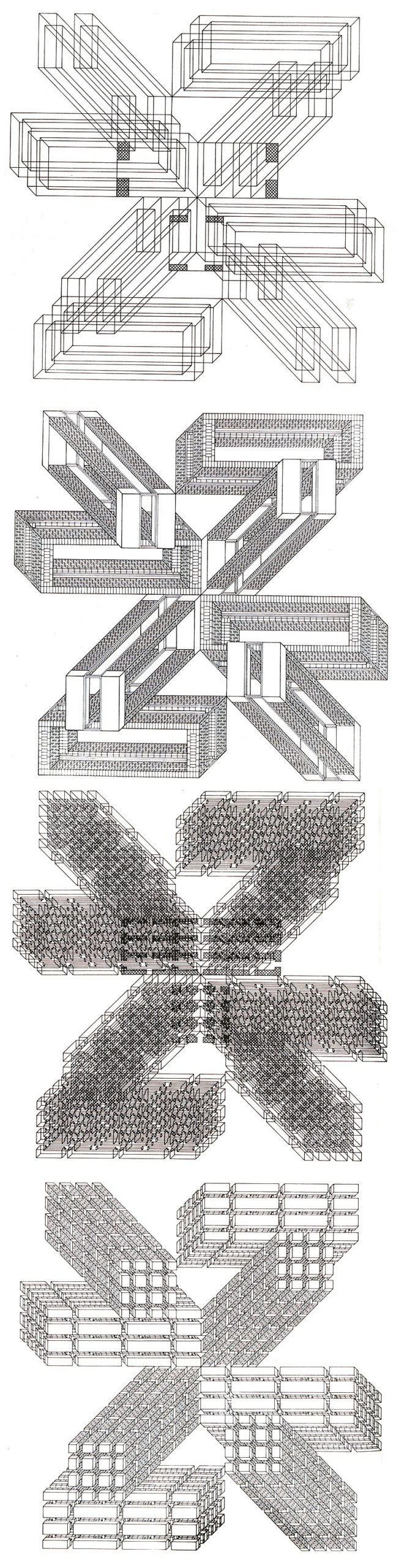 Stanley Tigerman and GL Crabtree Structures Linked Form 2