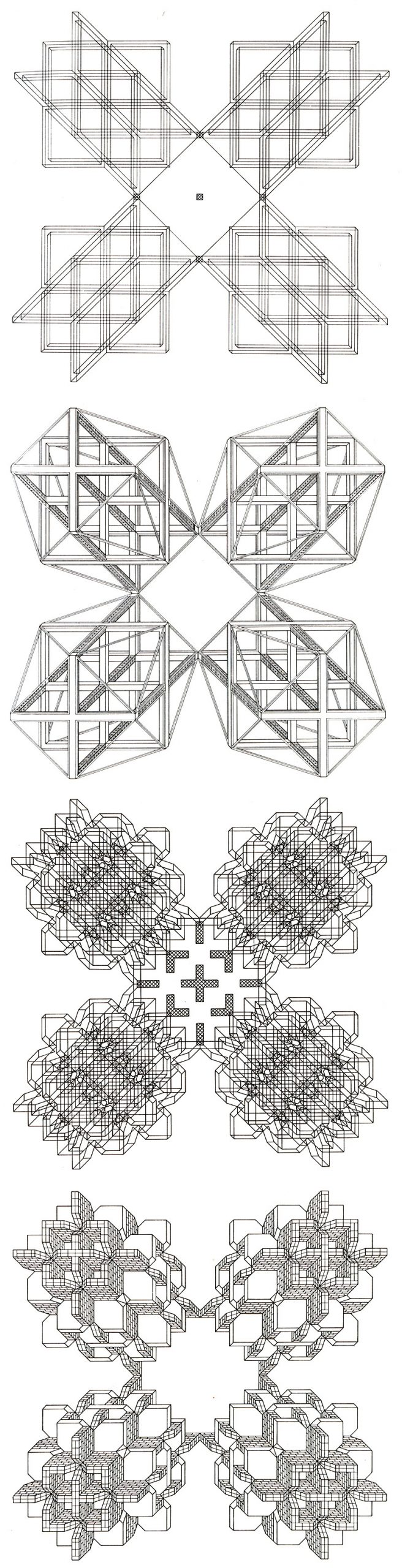 Stanley Tigerman and GL Crabtree Structures Lozenge 2