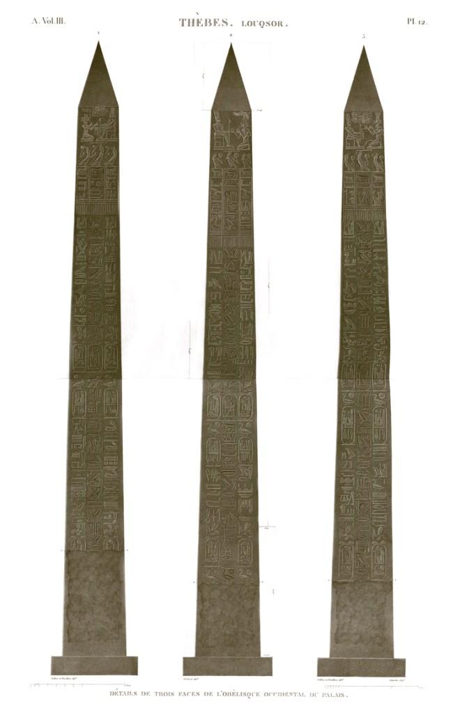 Obelisk Luxor Paris