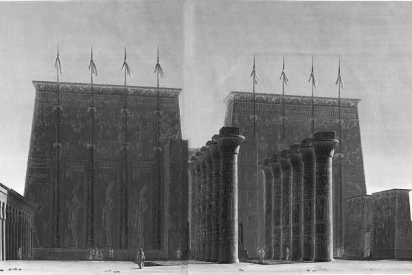 La Description de l'Égypte: Antiquités, Volume III – Karnak and the Luxor Temple