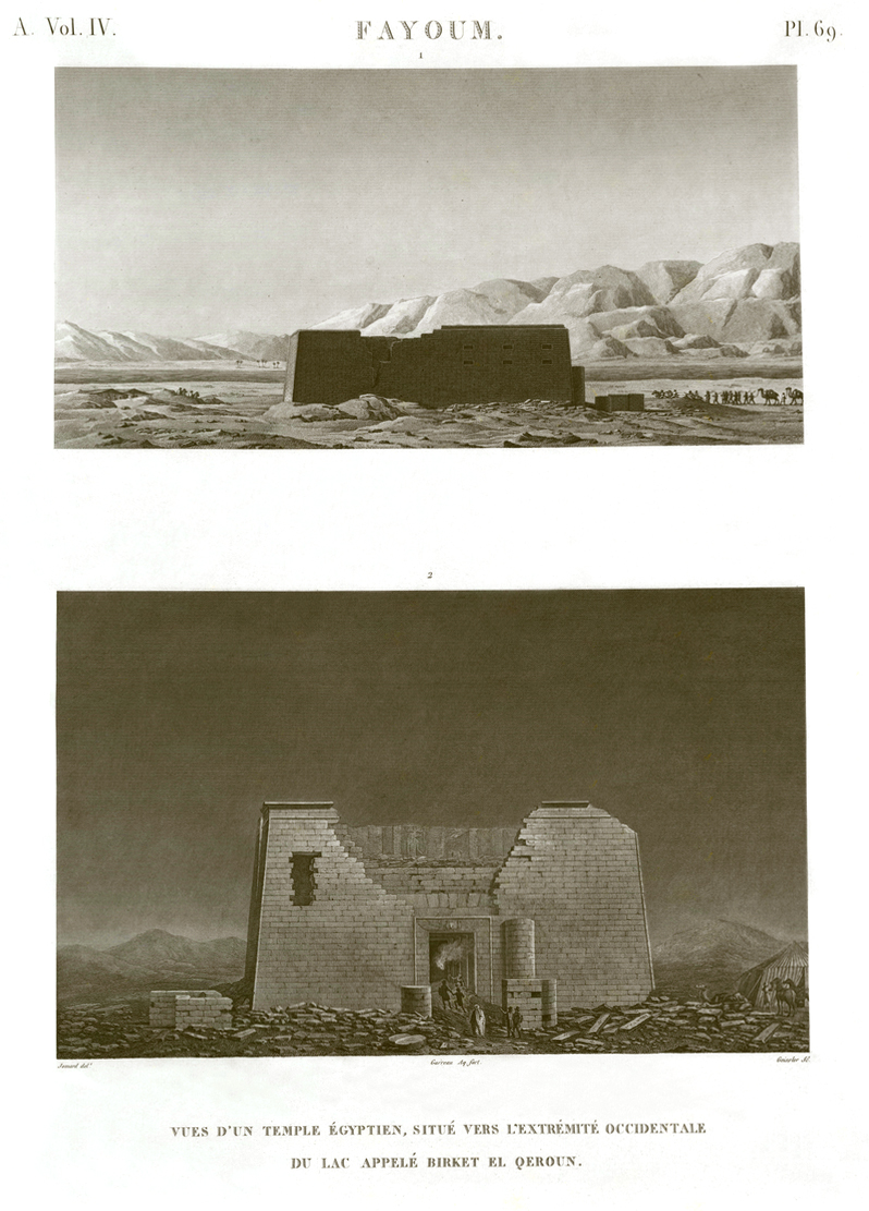 Faiyum Description de l'Egypte Egypt Antiquités