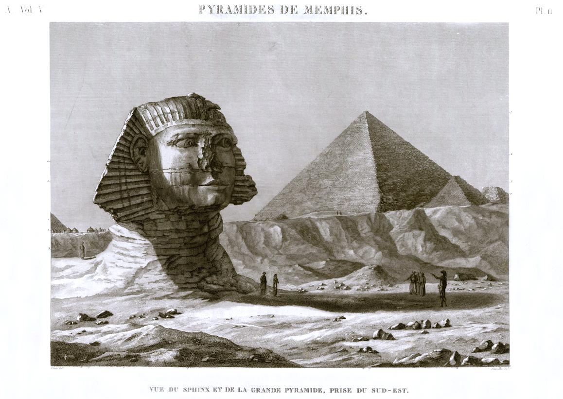 Giza Pyramid Sphinx
