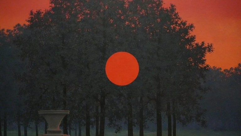Magritte, Day and Night