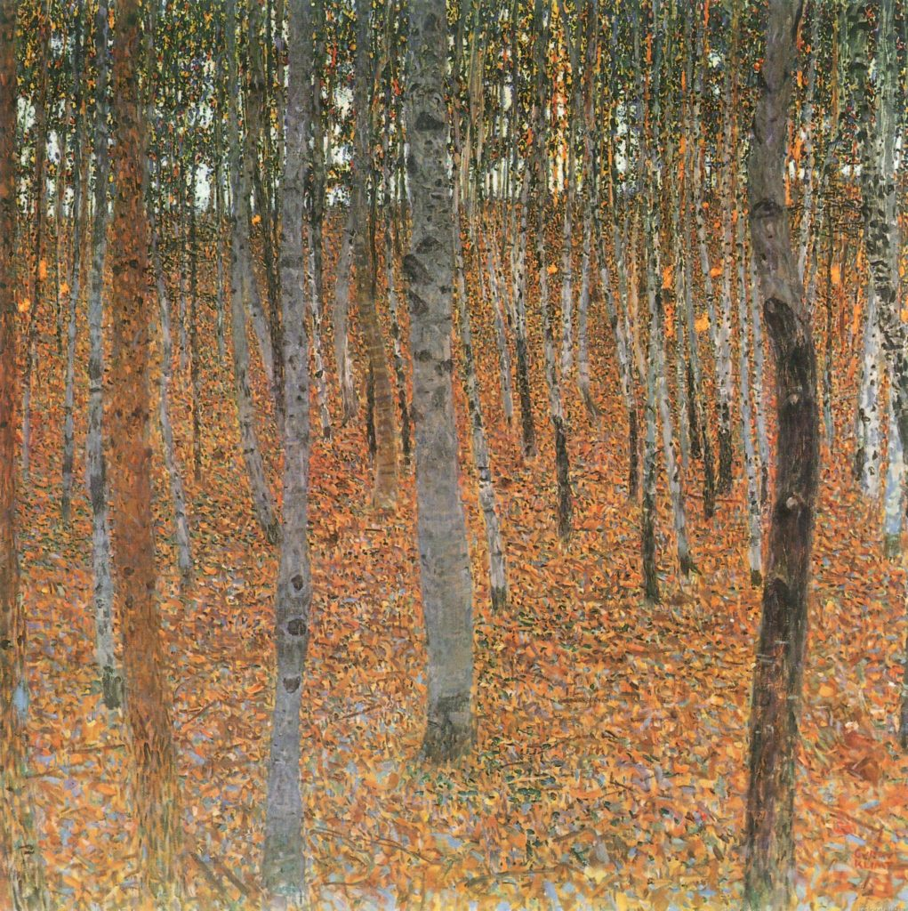 Beech Forest I - 1902 Klimt Forest Paintings