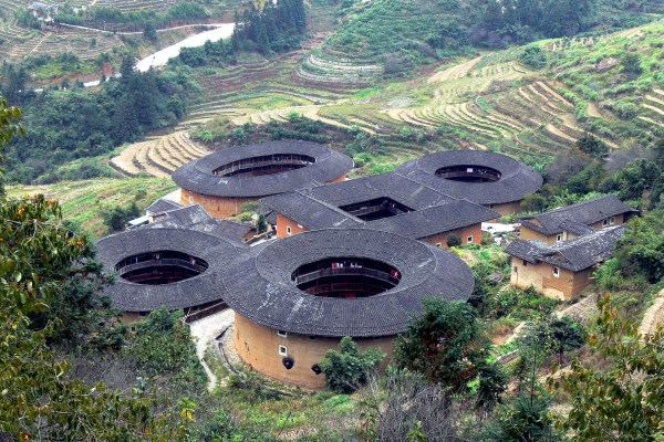 Fujian Tulou, the Hakka Walled Villages