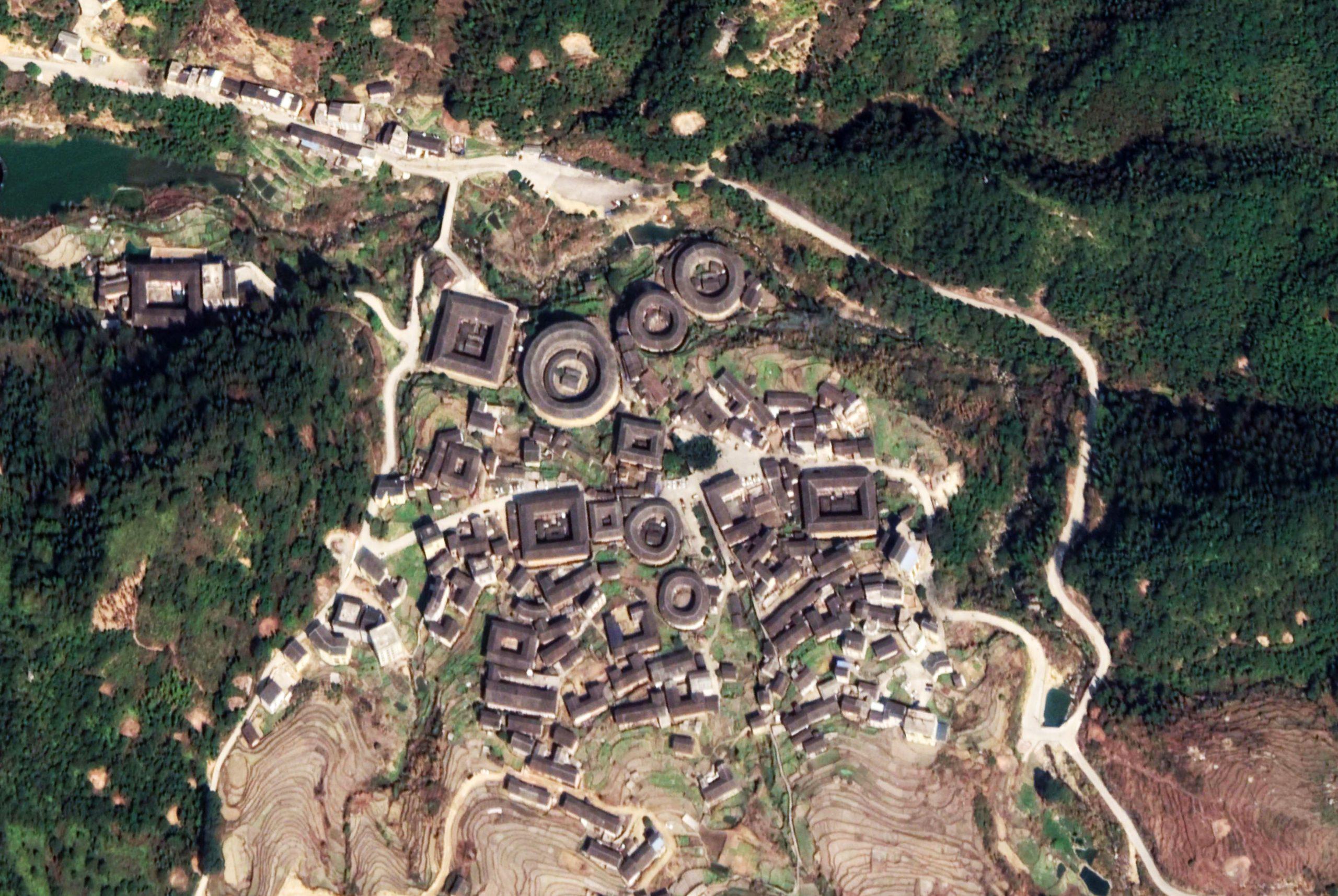 Chuxi Tulou cluster Fujian