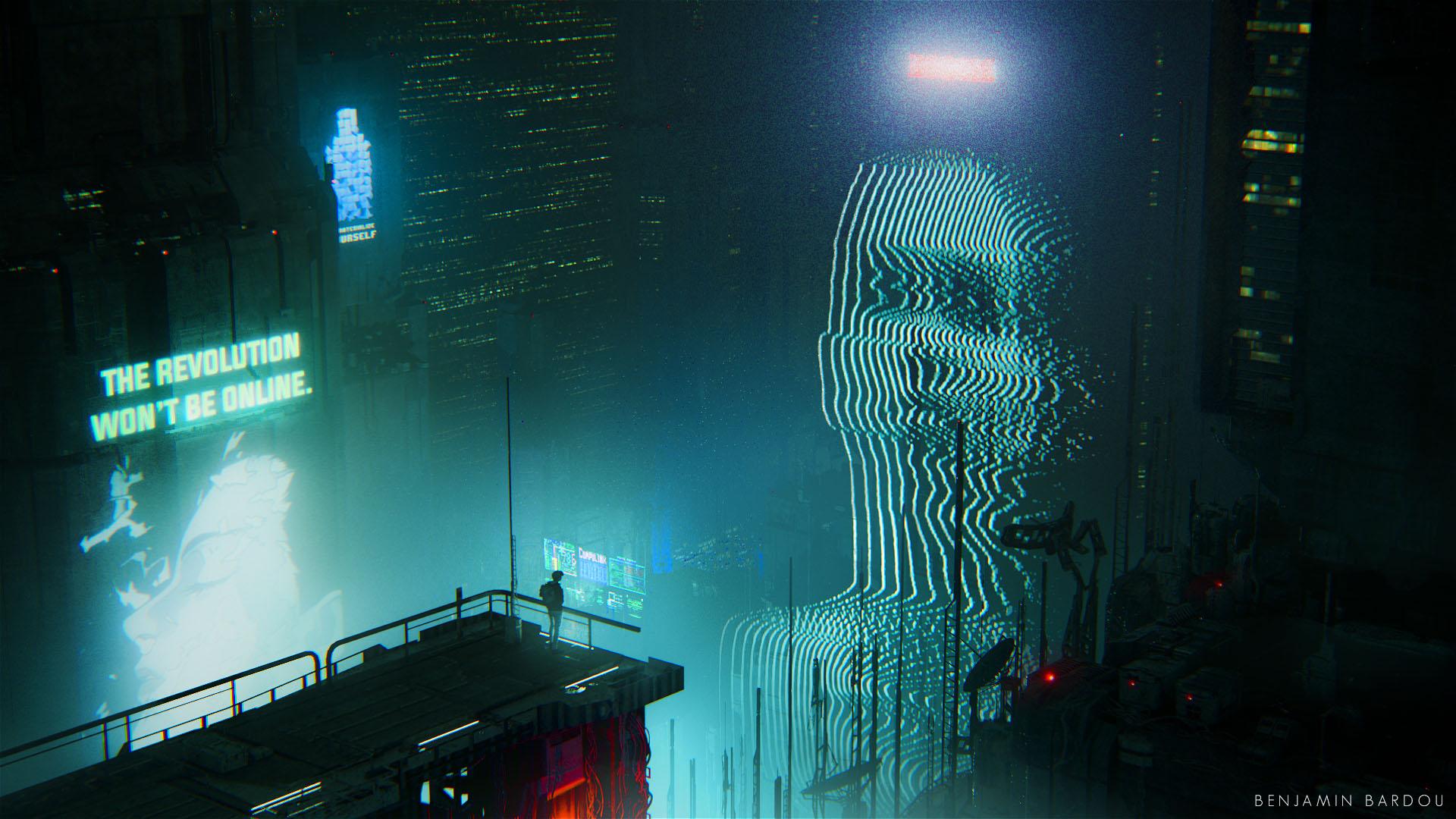 Megalopolis Blade Runner