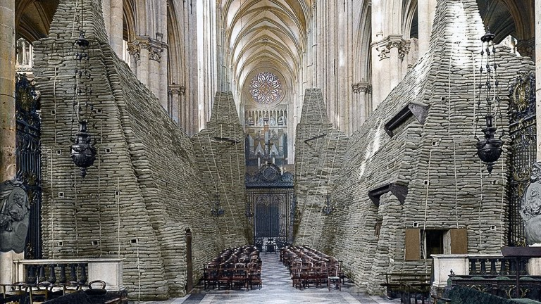 The Consolidation of the Amiens Cathedral