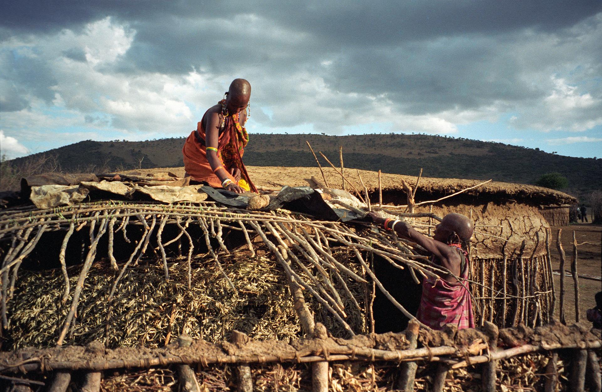 Maasai Women, Maasai Mara, Kenya