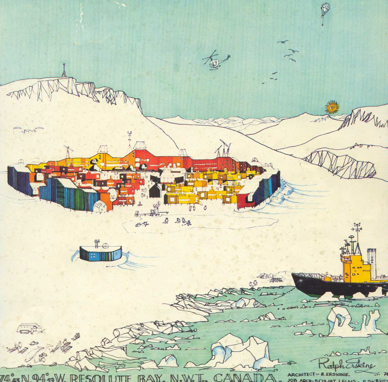 Resolute Bay Ralph Erskine 1970