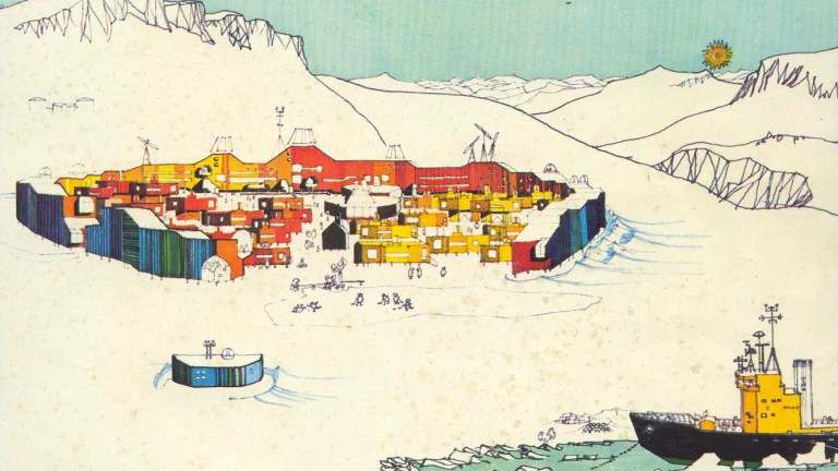 Resolute Bay, Ralph Erskine and the Arctic Utopia